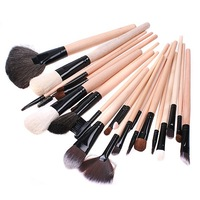 Professional 24 pcs Makeup Foundation Brush Set Wool Brand Make Up Concealer Brush Set Eyeshadow Brush set free shipping
