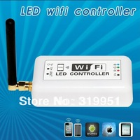1 pcs iPhone ipad and Android System DC12V-24V WiFi rgb dimmer  for RGB LED Lights, wireless led dimmerFree Shipping