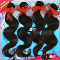 Hot selling 6A malaysian virgin hair 100% Unprocessed malaysian body wave virgin hair, mixed 4 pcs lot , human hair extension