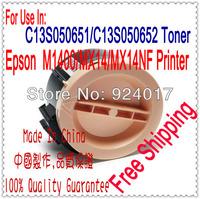 Toner For Epson AcuLaser M1400 MX14 MX14NF Laser Printer,C13S050651 C13S050652 For Epson M1400 MX14 Printer,Free Shipping