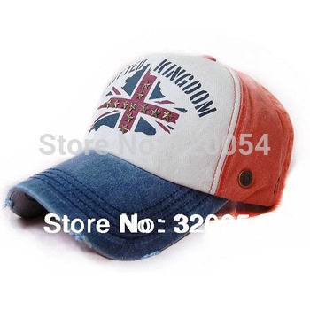 Free shipping,1pcs,2013 new,fashion leisure baseball caps,men and women fashion rivet peaked hats,8color,wholesale.