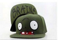 Free Shipping!!! New Style Comic Snapback Hats! Cools Styles Cap! Dragon Ball, Zombie