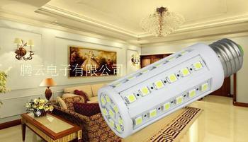Corn Bulb E27 7W 5050 SMD 44 LED Bedroom Lamp E14 220V 360 degree High Power Cool| Warm White Free Shipping 5pcs/lot