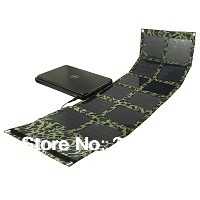 Free Shipping 36W Foldable Solar Powered Bag Solar Charger for Laptop/Computer/12V Car/Boat Battery/Mobile Phone/iPhone