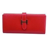 2015 Hot Selling Purses Crocodile Pattern Women Genuine Leather Organizer Clutch Wallet,Multi Card Holders,Gifts,YW-KT8031