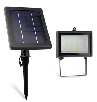 free shipping NEW Solar Powered 30 LED Outdoor Light lighting Garden/Lawn/Road Lamp 1 Year Warranty