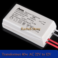 2pcs AC 220V to12V 40W LED AC12 Transformer Power Supply for 12V LED light bulbs for led g4 and g4 halogen bulbs