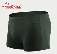 4 pieces/lot) Men's Boxer Shorts Fashion Underwear Shorts Bamboo Fiber Elasticity Men High Quality Trunk Underwears