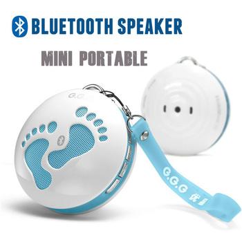 Fashion SALY-B Creative Bluetooth Speaker mini portable cartoon stereo mp3 TF player Built in battery radio free shipping