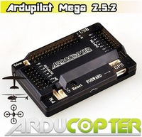 APM 2.5.2 ArduPilot Mega 2.5 Multicopter Flight Control Board APM2.5 with 6M GPS Module with protect Case (Promotion)