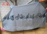 Thicker Bike cover anti-dusk bicycle motorcycle rain cover dust jacket durable sun cover 380g 210*100 cm