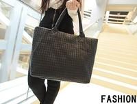 Free shipping Summer Black Women handbag designers brand Shoulder Tote bag bolsas femininas 2014 Sac for Fashion