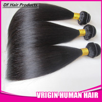 DF hair: Remy Straight Brazilian Human Hair, Mix Bundles, 4pcs/lot Hair Extensions, Best Quality, Free DHL Shipping, Cheap Price