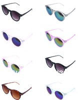 delicate cool sunglass wholesale and retail.2013 best choice for gift.brand round sunglasses women 2013