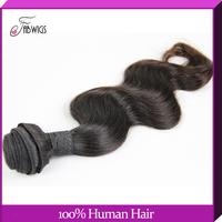 "Brazilian Virgin Hair Weft 8-30"" Body wave Human Virgin Hair Weft Extension Unprocessed Hair Bundles 1pc/Lot Free Shipping"