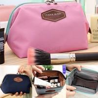 2014 New Cute Women's Lady Travel Makeup bag Cosmetic pouch Clutch Handbag Casual Purse 4Colors #2 SV002470