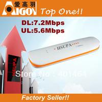 Russian/English 7.2M  3G UP TO 3.75G  Unlocked HSUPA USB WCDMA Gsm Modem Wireless Faster than HSDPA Modem PK Huawei E1750  Hot!