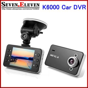 Новые K6000 автомобильный видеорегистратор камеры 2.7 дюймов жк-цифровой ночного видения новатэк или SunPlus Chipest оригинал для автомобильный видеорегистратор, Прямая поставка