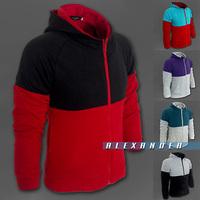 Freeshipping,Discount,2014 Fashion New Hoodies Sweatshirts Men ,Top Brand Sports Clothing Men,Zipper Coat,Korean Slim Style A88