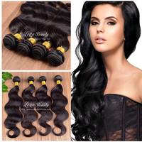 "6A Brazilian Virgin Hair body wave 3bundles 8""-30"" human hair weave ,best quality unprocessed brazilian virgin hair extension"