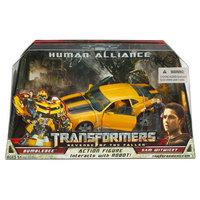 Human Alliance Robots Bumblebee+Sam Revenge of the Fallen Action Figures Classic Toys For Children In Original Box