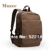 Muzee New  brand high quality Men's Double-Shoulder Canvas Laptop Bag Sport casual bags    ME-1569