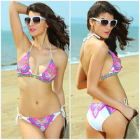 New Arrival bandage swimwear colorful bathing suits lace bikinis swimsuit