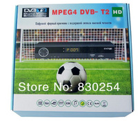 New 1pcs DVB T2 Tuner MPEG4 DVB-T2 HD Compatible with the DVB-T/H.264 TV Receiver w/ RCA / HDMI For RUSSIA/EUROPE