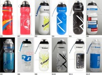 GIANT US F.D.A 750ml 26oz Portable Bike Cycling Sports Water Bottles Durable PP Odor BPA Phthalate Free Recyclable,9 Versions