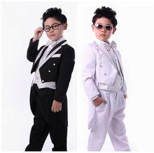 Vestidos de esmoquin bebés boda muchachos libres del envío de los niños frac para la fiesta de cumpleaños 6 set de buena calidad(China (Mainland))