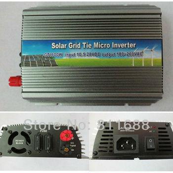 600W Grid Tie Power Inverter Solar Panel Generator With MPPT Function