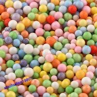 Free Shipping 5 Packs 25000 Pcs White Color Polystyrene Styrofoam Filler Bead Flower Craft