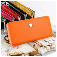 2013 Promotion Cheap Vertical PU Leather Famous Brand Fashion Designer Wallets for Women Purse Bags Free Shipping