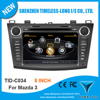 Timeless-long A8 Chipset 3G WiFi Car DVD Video Player For  Mazda 3 2010-2011 With GPS Navigation Radio Bluetooth Ipod Free Map