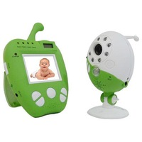 2014 New Fashion Wireless Monitor ,2.5 Inch LCD 2.4GHz Wireless Baby Monitor AV Out Night Vision Video Portable Baby Monitor