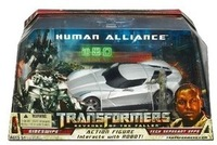 Free Shipping Human Alliance Racing Car Robots Sideswipe+Man Kids Classic Toys For Boys Action Figure Anime Gift With Box HU0003