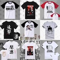 Anime Shingeki no Kyojin Scouting Legion Cotton T-shirt / Attack on Titan Customizable men's and women's T shirt