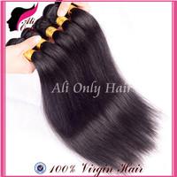 Rosa Hair Products Malaysian Virgin Hair Straight 4Pcs No Shedding Malaysian Straight Hair 8''-30''100% Human Hair Extensions