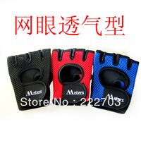 free  slip-resistant 2013 sport the hunting glove fitness gloves hot unisex women men autumn -summer fingerless gloves