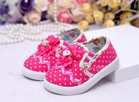2013 autumn single shoes children's shoes wholesale children 13380 light leather baby shoes toddler grid cloth