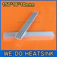 FREE Shipping 10pcs 150x16x10mm DIY Raidiator Heatsinn For LED