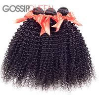 rosa hair products 5A mongolian afro kinky curly virgin hair 3pcs freeshipping human hair extension wet and wavy human hair