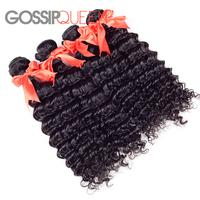 "unprocessed virgin hair mongolian deep wave 8""-30""  mixed  4pcs free shipping mongolian virgin hair human hair weave"