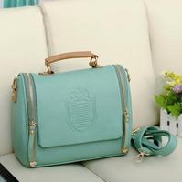 Free shipping Womens Leather Crossbody Shoulder Bag Tote Handbag Messenger Satchel Medium Evening Bag Casual Clutch bag
