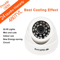 Free Shipping Wholesale CCTV Camera HD Infrared Surveillance Camera Security Dome Camera KaiCong S620g 4pcs By EMS