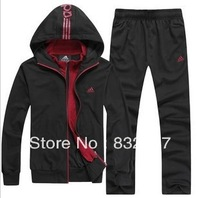 2013 new spring cotton sport suit men clothing set menspring clothes coat+pants 2pcs sets casual sportshoodies clothing men