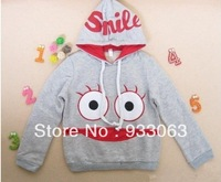 Free shipping children clothes pure cotton  for autumn children hoodies