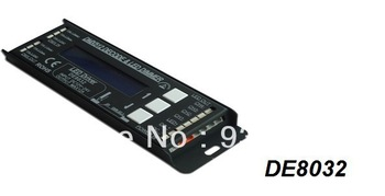 Factory Price!!! Free shipping 288W DMX512 Decoder led controller DC12-24V digital input  3A*4Channel output 5000HZ dmx decoder