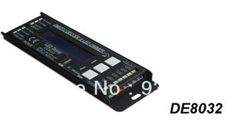 Factory Price!!! Free shipping 288W DMX512 Decoder led controller DC12-24V digital input  3A*4Channel output 5000HZ dmx decoder