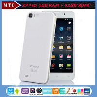 "Hot Sales!!5""LTPS Screen MTK6589t 1GB DDR 32GB ROM13MP Camera ZOPO ZP980 Android Phone With 5 Free Gift+ Free Shipping!!"